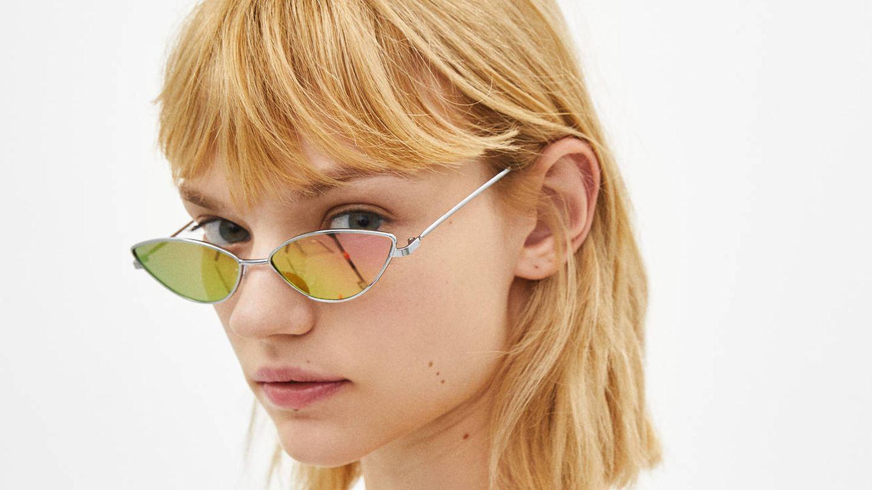 Gafas de sol con lentes espejo al 40% de descuento (5,99 euros).