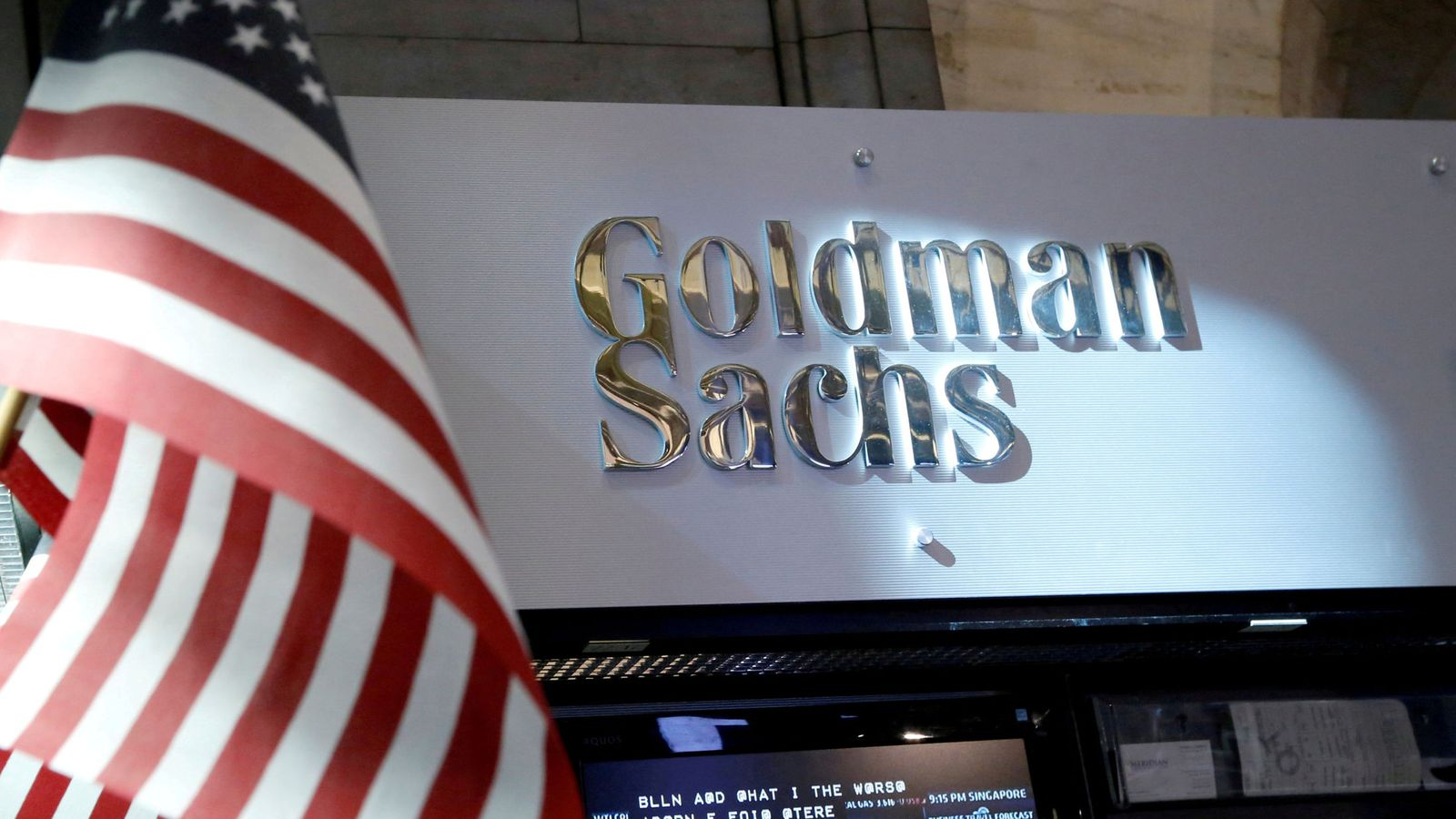 Foto: File photo: the goldman sachs stall on the floor of the new york stock exchange