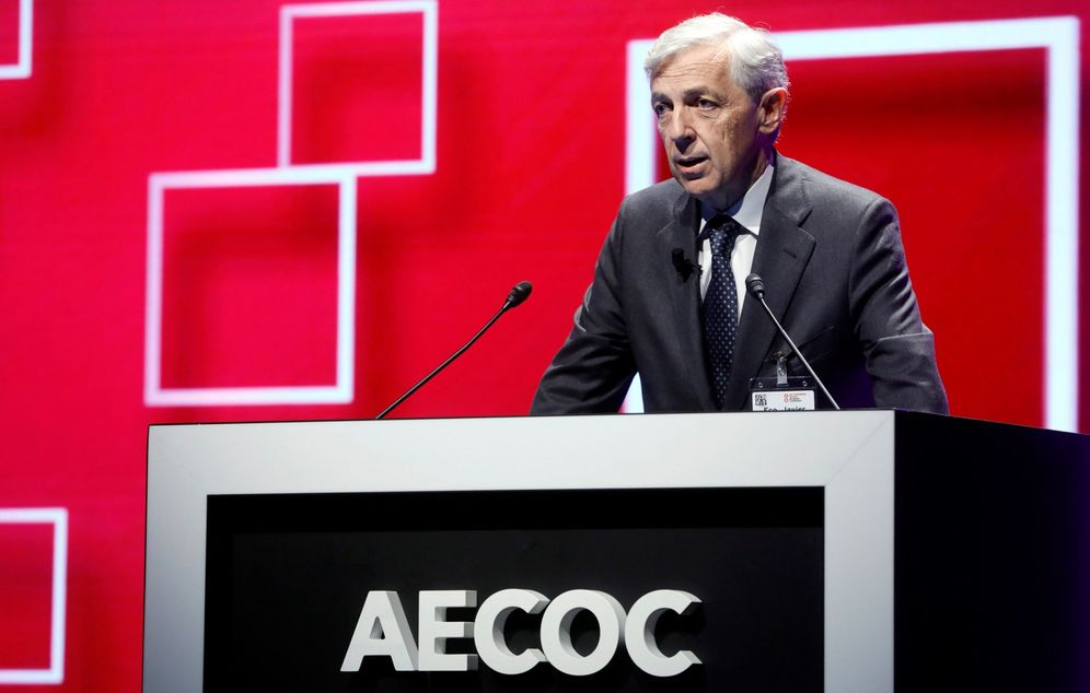 Foto: El presidente de Aecoc, Javier Campo. (EFE)