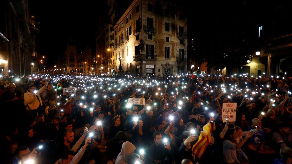 Domingo tranquilo en Barcelona sin incidentes graves en las calles