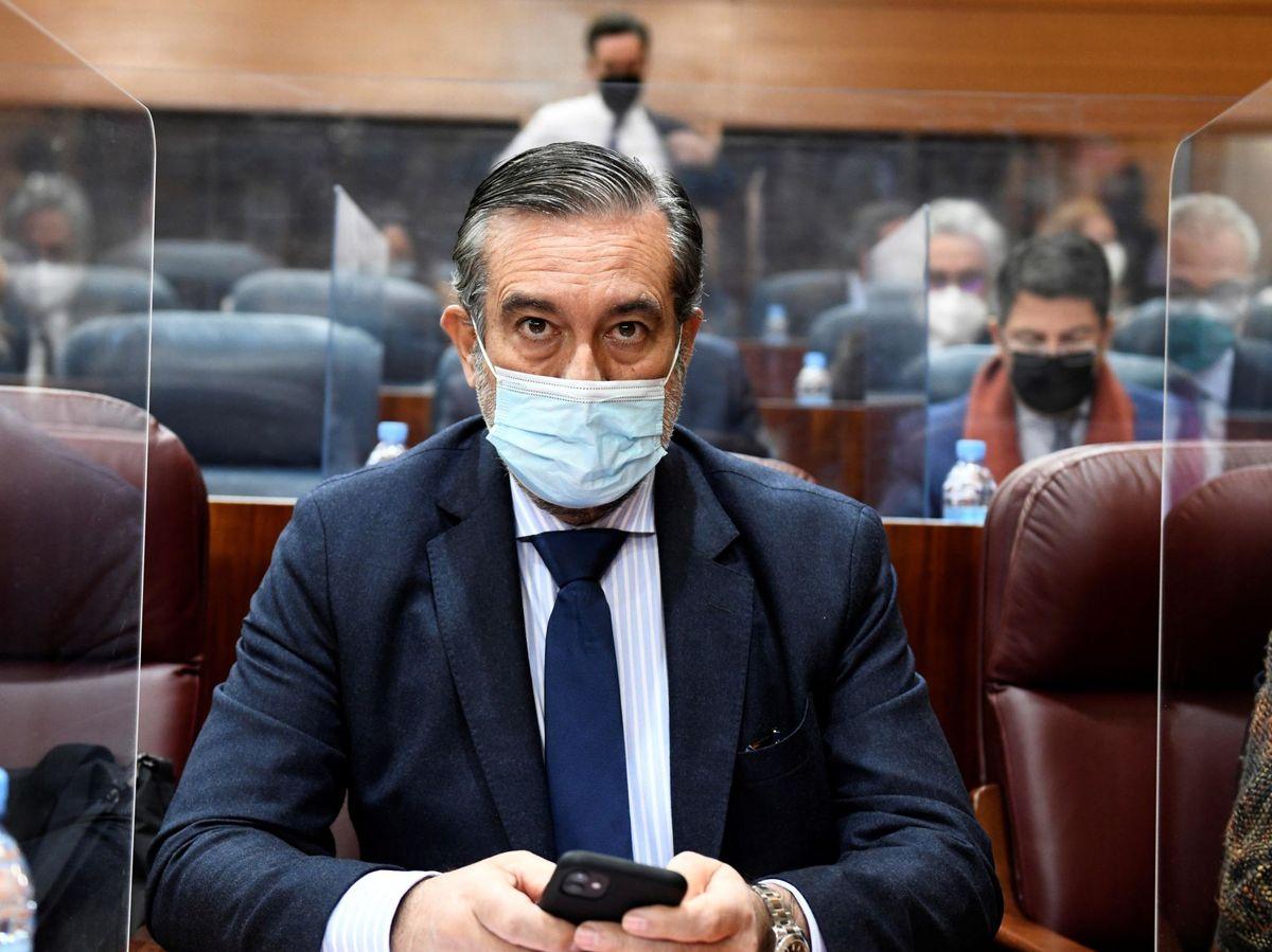 Foto: El consejero de Justicia e Interior de la Comunidad de Madrid, Enrique López. (EFE)