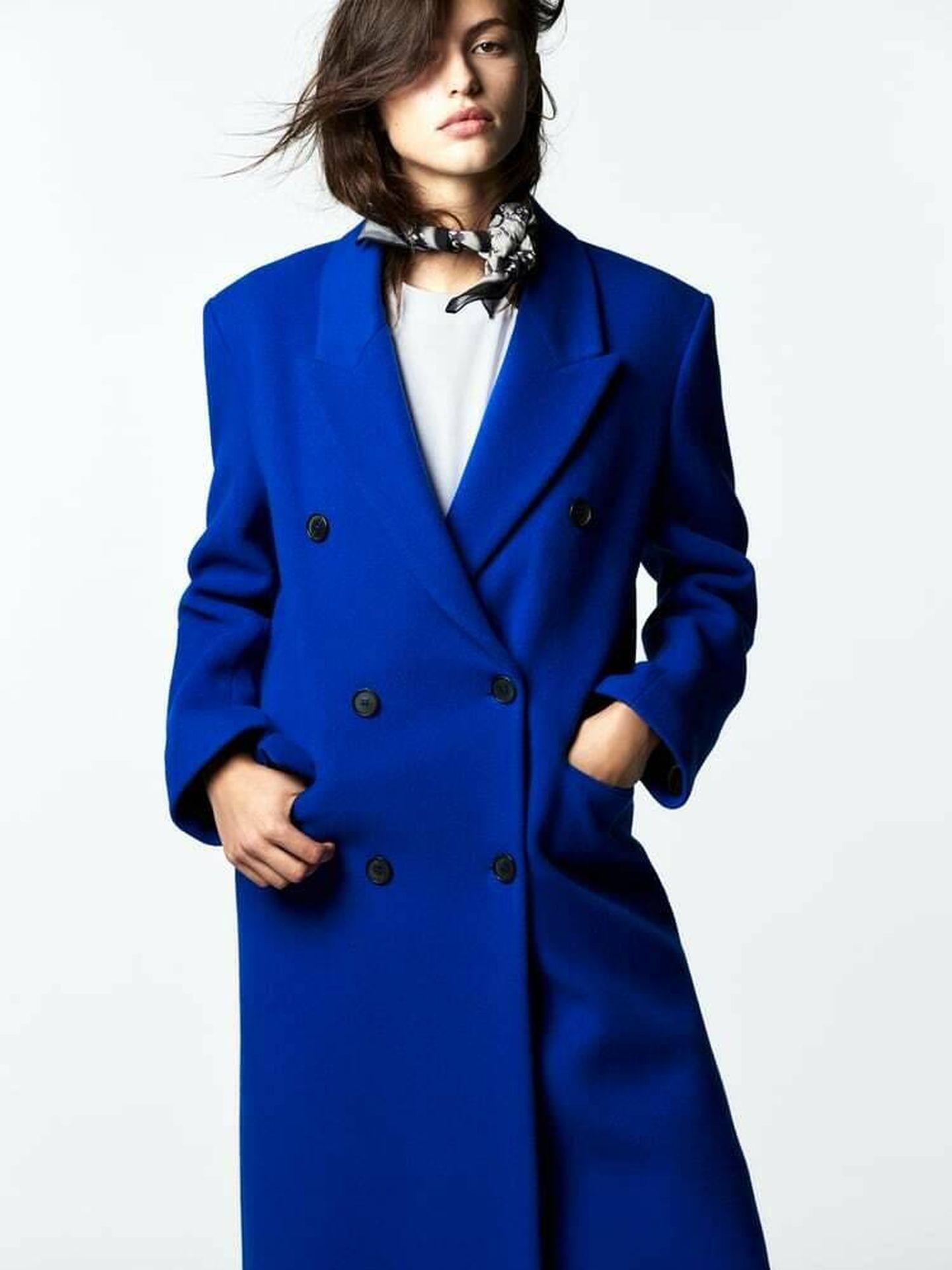 El nuevo abrigo de Zara. (Cortesía)