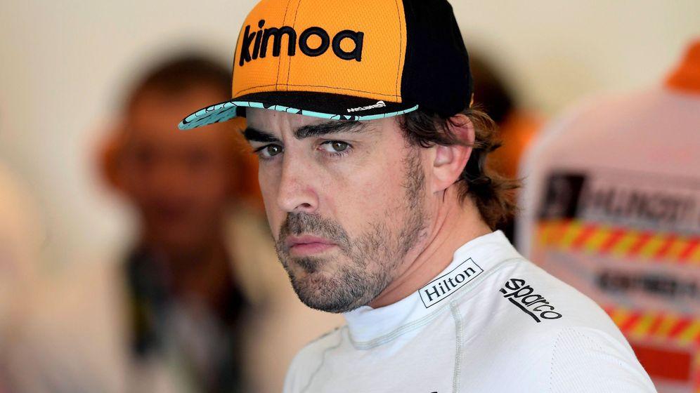 Foto: Fernando Alonso sigue presente en la Fórmula 1 aunque no dispute el mundial. (EFE)