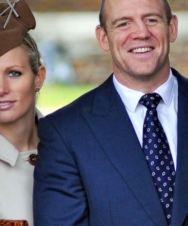 Foto: Zara Tindall junto a su marido, el exjugador de rugby, Mike Tindall, en una foto de archivo. (Imagen: EFE).
