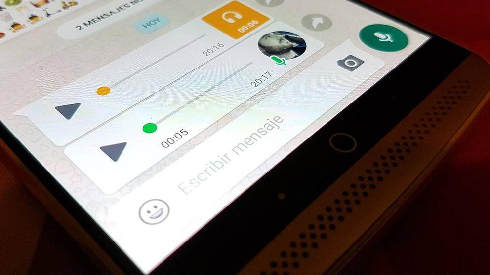 Por fin podrás mandar notas de voz por WhatsApp sin tener que pulsar la pantalla