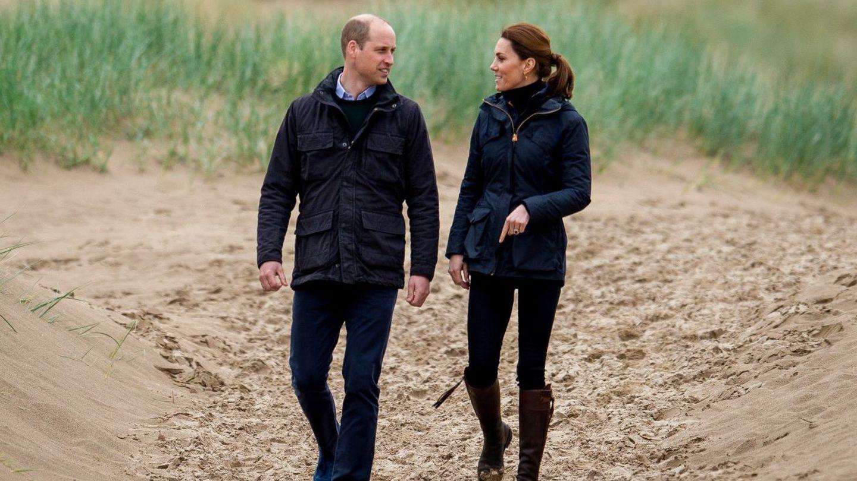 El príncipe Guillermo y Kate Middleton. (EFE)