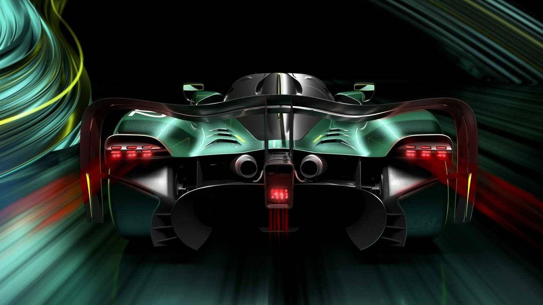Una trasera de un deportivo de carreras y cola larga pensado para Le Mans.