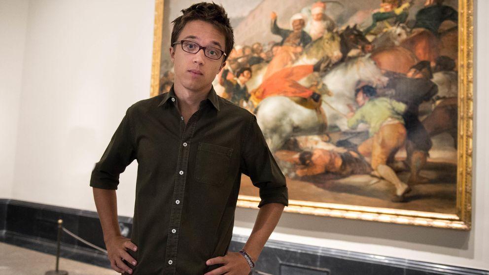 Íñigo Errejón encuentra el 15M en El Prado