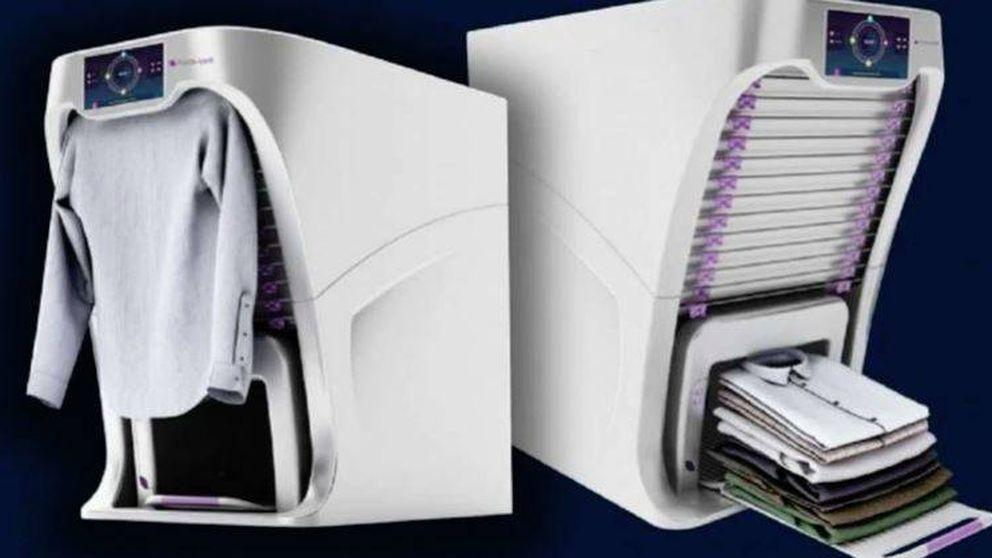 La máquina que te soluciona la vida: plancha la ropa y la dobla en 4 segundos