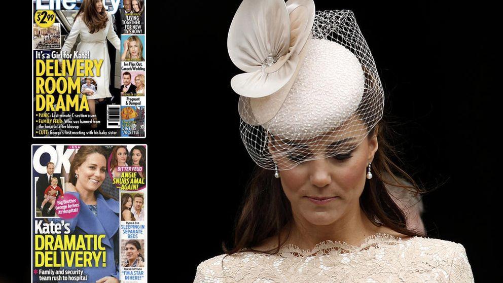 Los dos falsos partos de la duquesa de Cambridge