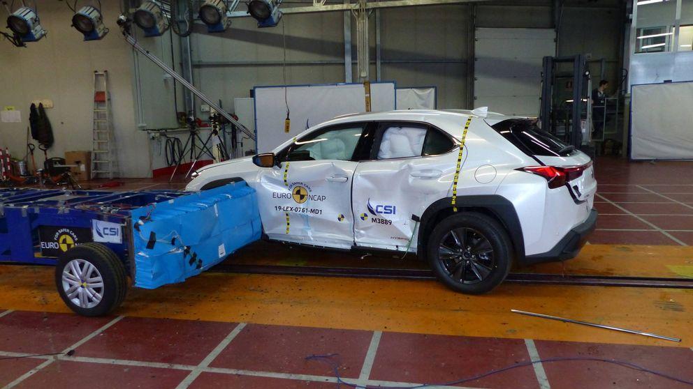 Los ocho Lexus probados por EuroNCAP con cinco estrellas en seguridad