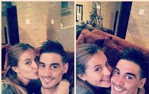 La nueva 'Miss España' sale con el hijo de Fernando Hierro