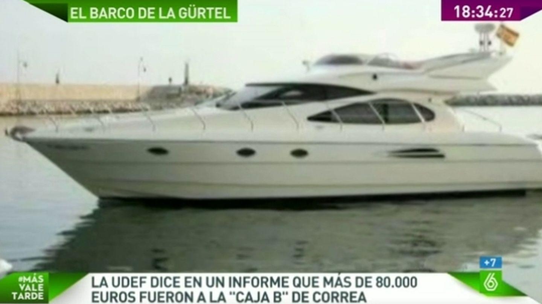 Yate que vendió Correa (LaSexta)