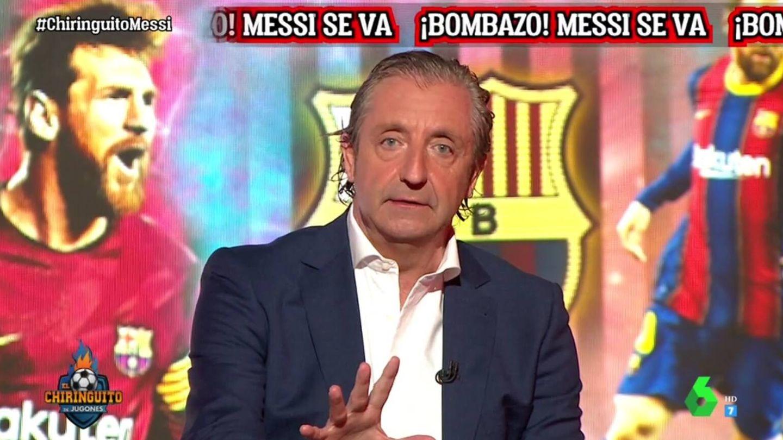Pedrerol, en La Sexta. (Atresmedia).