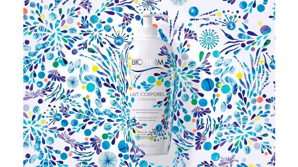 Foto: Los frecos diseños florales de Niky Roehreke para Biotherm.