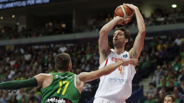 Pau Gasol ya está listo para el EuroBasket