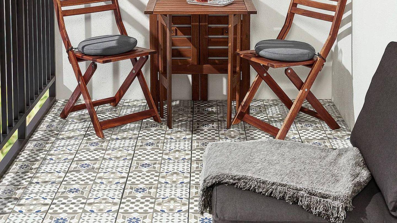 Puedes crear estilosas combinaciones con estos dos suelos de Ikea. (Cortesía)
