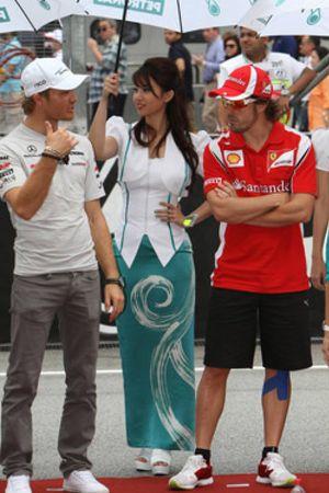 El código no escrito entre los pilotos que Nico Rosberg no respetó en Bahrein