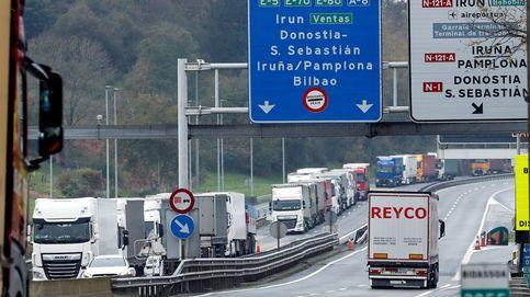 La DGT recomienda evitar el paso fronterizo del País Vasco durante el fin de semana