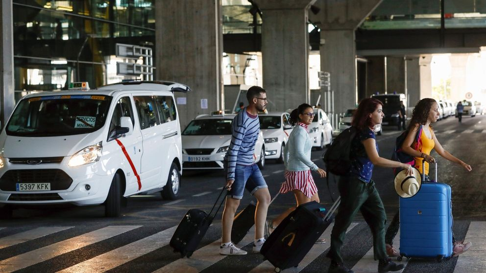 Turistas, entre la comprensión y el enfado por unas vacaciones arruinadas