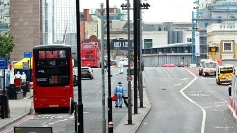 Doble atentado en Londres: la noche de pánico en imágenes