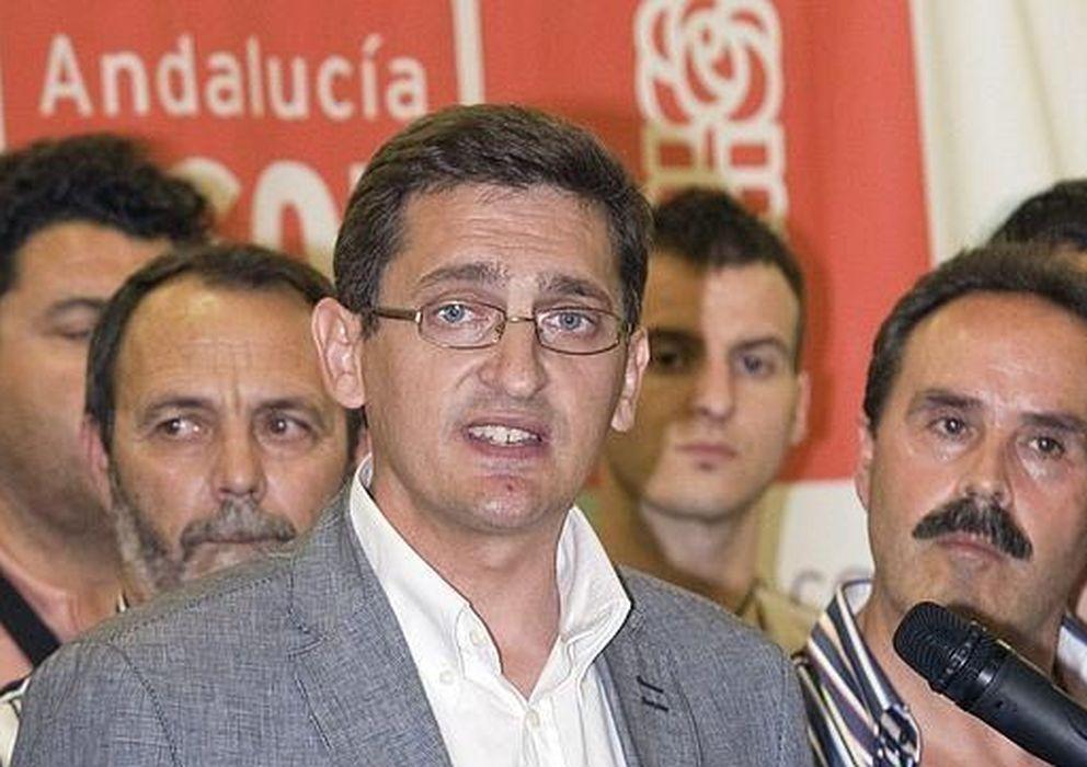 Foto: José Luis Sánchez Teruel, secretario general del PSOE de Almería. (EFE)