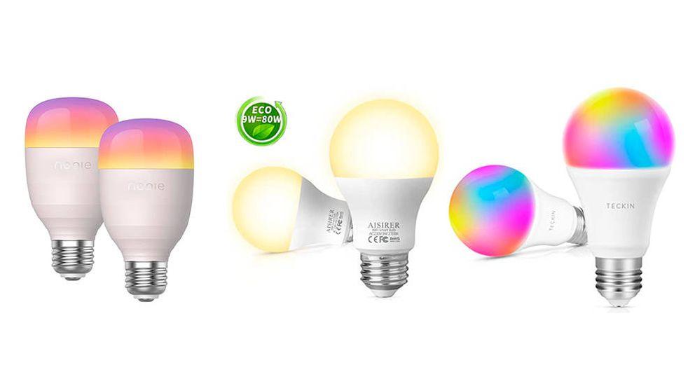 Las mejores bombillas inteligentes de 2020 para conseguir el mejor ambiente