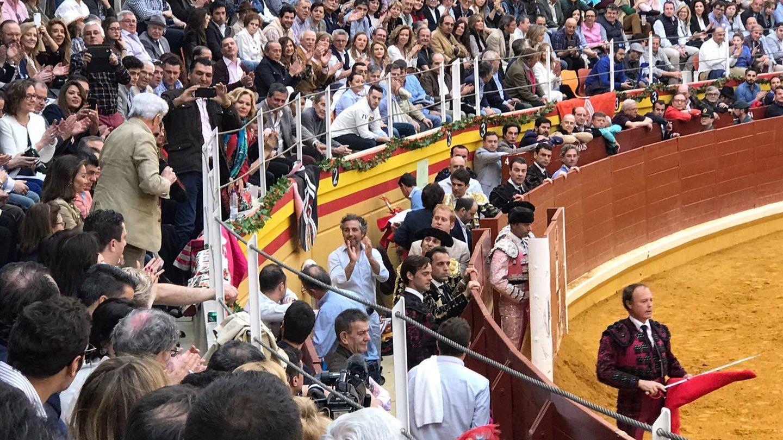 El tendido vip de la plaza de Illescas en una imagen de Vanitatis