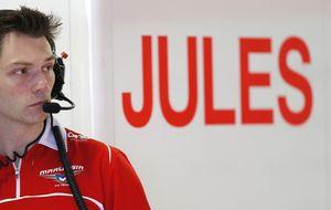Marussia niega que ordenara a Bianchi ir más rápido en pista