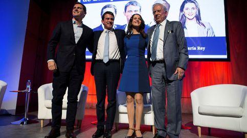 Valls y Vargas Llosa elevan a Arrimadas: Verla ganar abriría una etapa en Europa