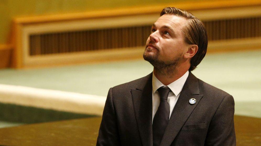 Foto: DiCaprio en el Día Internacional de la Paz 2016. (EFE)