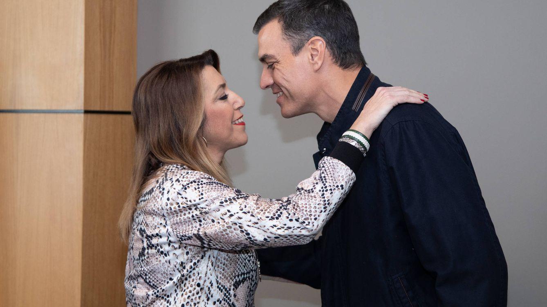 Susana Díaz, susto o muerte: un duelo que dependerá de si Sánchez es presidente