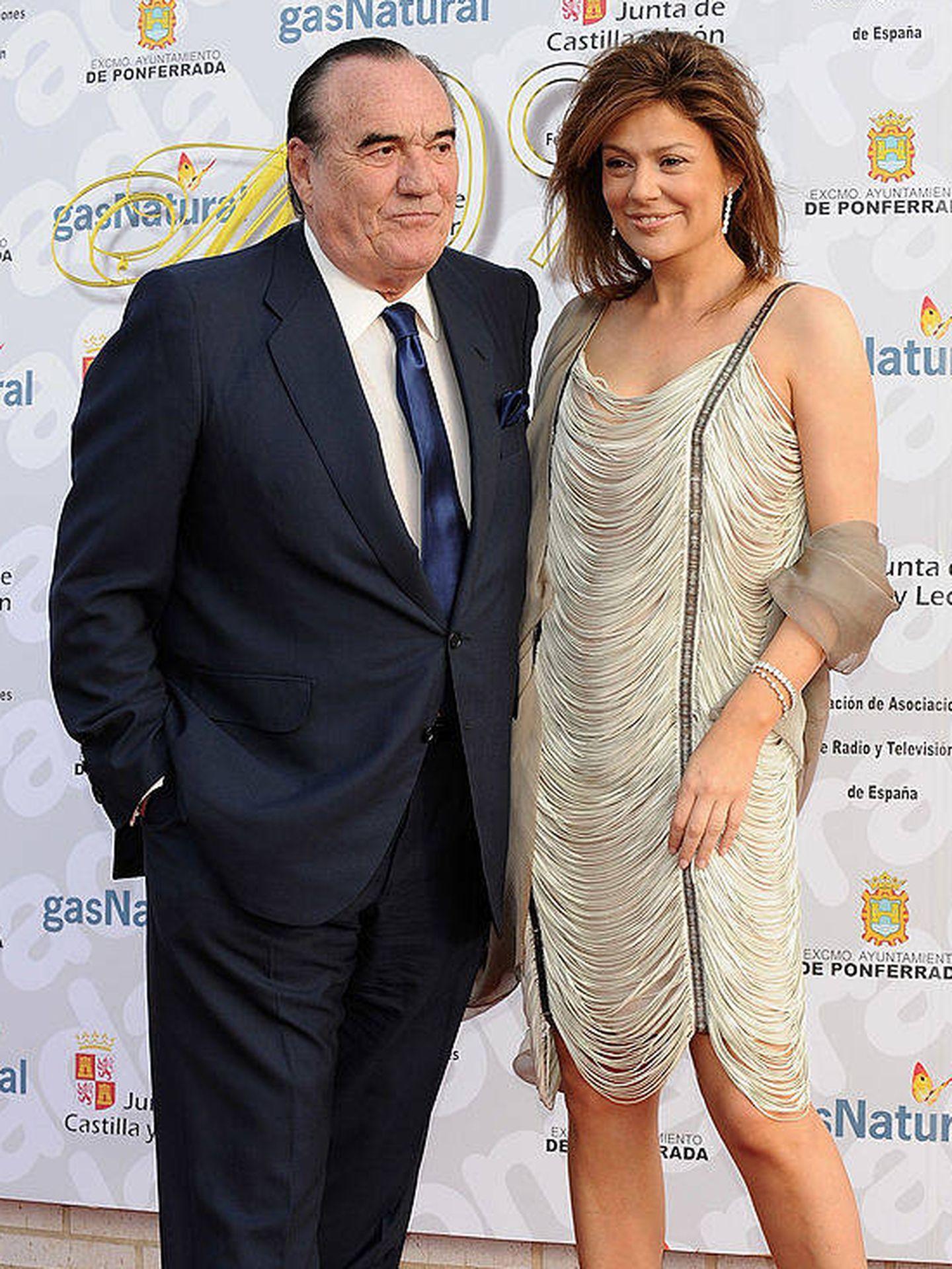 Fernando Fernández Tapias y Nuria González, en una foto de archivo. (Getty)