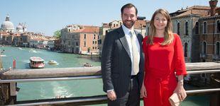 Post de Guillermo y Stéphanie de Luxemburgo esperan su primer hijo