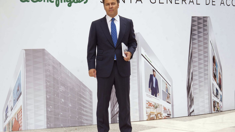 El presidente de El Corte Inglés, Dimas Gimeno. (EFE)