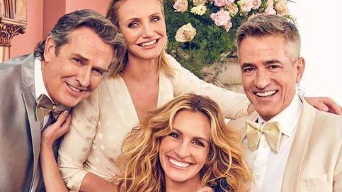 Los protagonistas de 'La boda de mi mejor amigo', juntos por San Valentín