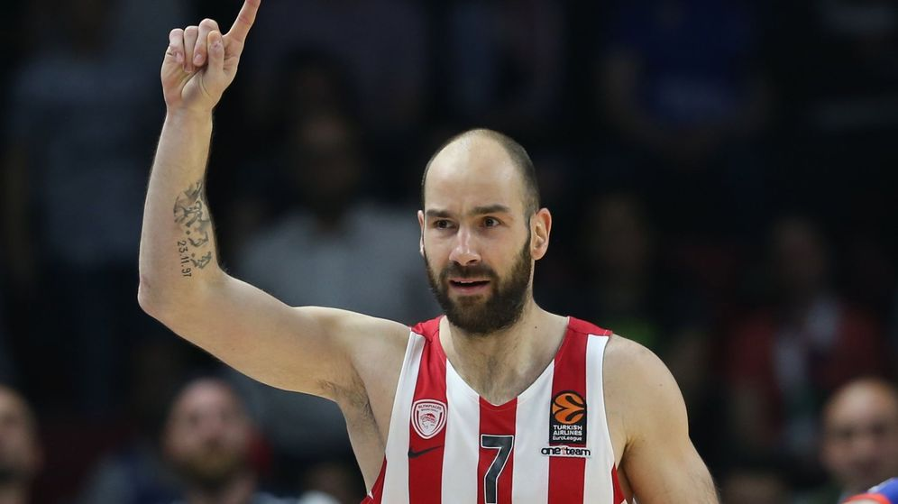 Foto: Spanoulis volvió a ser la clave del Olympiacos. (EFE)