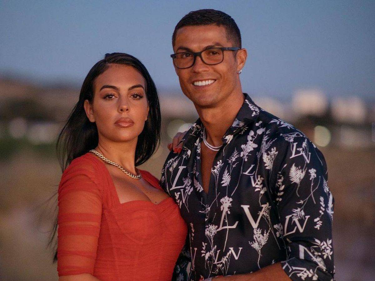 Foto: Cristiano y Georgina, en una imagen de archivo. (Redes)