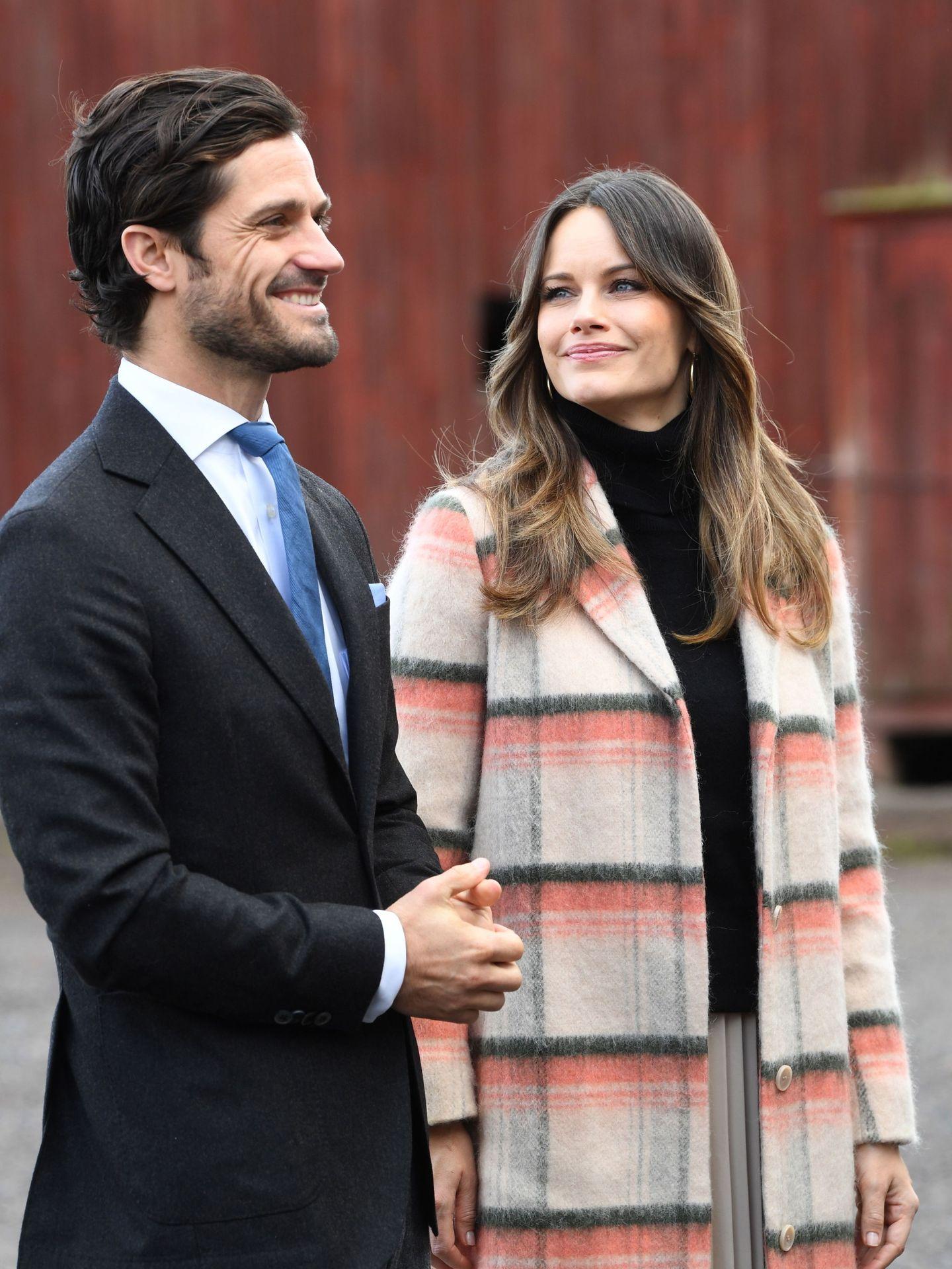 Carlos Felipe y Sofía, en una imagen de archivo. (EFE)