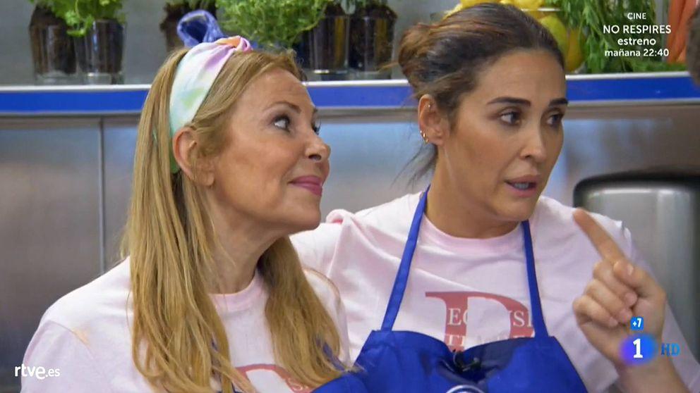 Vicky Martín Berrocal abronca a Ana Obregón en 'Masterchef Celebrity 4'