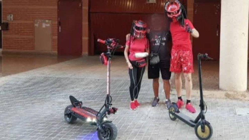 Localizan al conductor temerario del patinete eléctrico