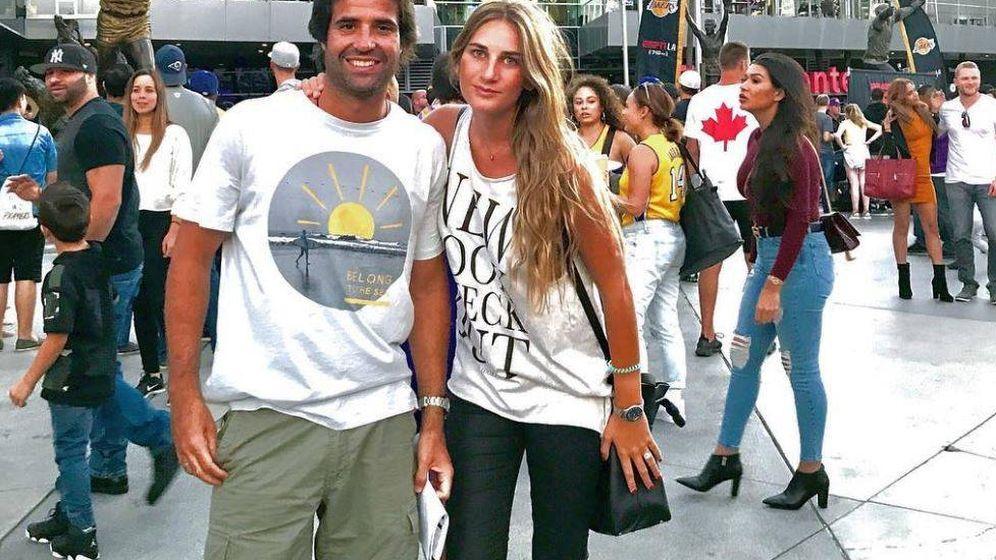 Foto: Sibi Montes y Álvaro Sanchis en una imagen de Instagram
