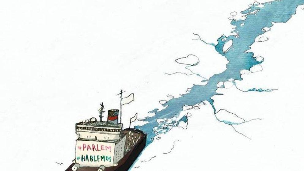 """""""El sábado en tu ayuntamiento"""": la cita de los que piden diálogo en Cataluña"""