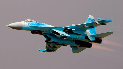 Un caza ruso MiG-31 escolta a un avión espía de EEUU sobre aguas del Pacífico