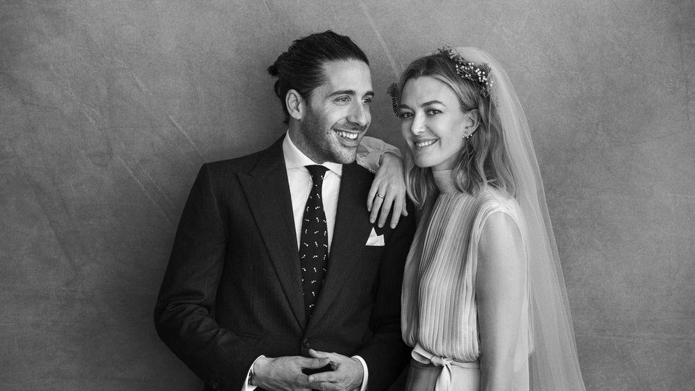 Foto: Marta Ortega y su marido. (Peter Lindbergh)
