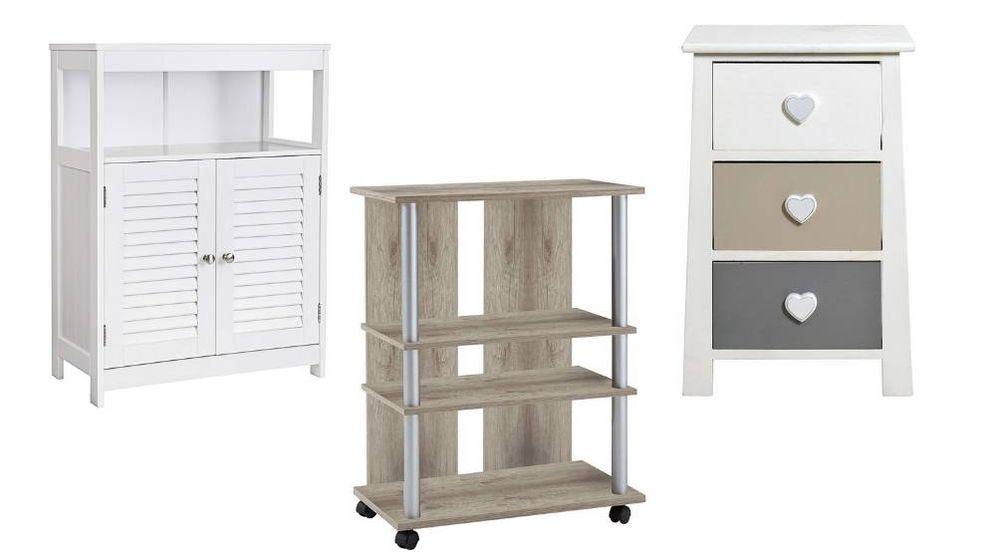 Foto: Los mejores muebles auxiliares para organizar, almacenar y dar un servicio extra en casa