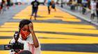 Nueva York plasma en sus calles la frase de 'Black Lives Matter'