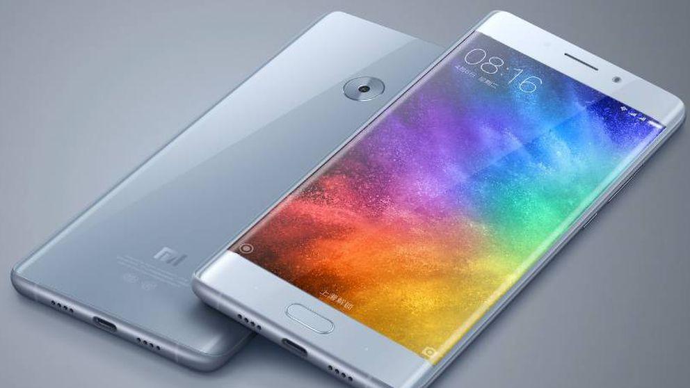 La china Xiaomi estrena el Mi Note 2: pantalla curva a precio imbatible