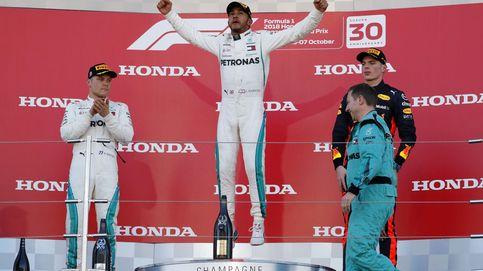 Resultado de F1: Hamilton gana, Verstappen arruina a Vettel, Sainz 10º y Alonso 14º