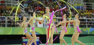 Post de La gimnasia rítmica española, a la final con la mejor nota de la ronda previa